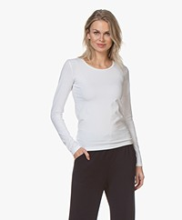 Organic Basics Organic Cotton Long Sleeve - White