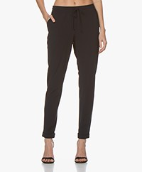Josephine & Co Ray Travel Jersey Pants - Navy
