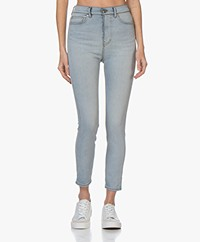 IRO Jourdin High-rise Skinny Jeans - Bleached Blue