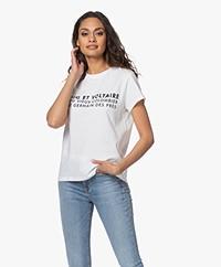 Zadig & Voltaire Zoe ZV Address T-shirt - White