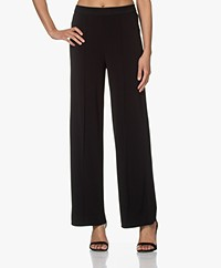 By Malene Birger Miela Crepe Jersey Pants - Black