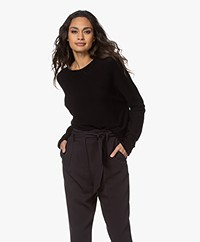 Drykorn Maila Pure Cotton Sweater - Black