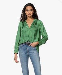 Zadig & Voltaire Tink Japanese Satin Blouse - Amande