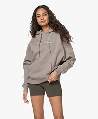 Les Coyotes de Paris Aiden Logo Hooded Sweater - Steel