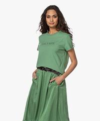 Zadig & Voltaire Zoe Citation Olympe T-shirt - Amande