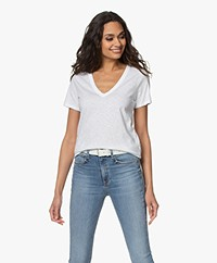 Rag & Bone The Vee T-shirt - Bright White