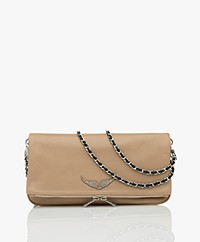 Zadig & Voltaire Rock Leather Shoulder Bag/Clutch - Down