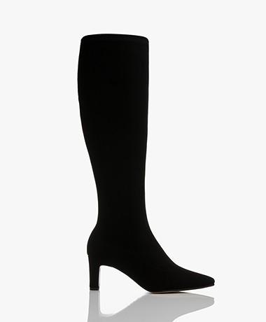 Panara Knee-high Boots - Black