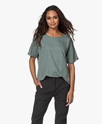 studio .ruig Tinder Piqué Jersey T-shirt - Jade