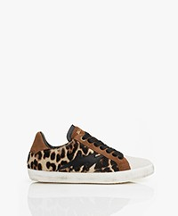 Zadig & Voltaire Used Hairy Leopard Sneakers - Multi-color