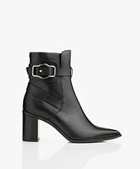 Rag & Bone Brynn Jodhpur Leather Ankle Boots - Black