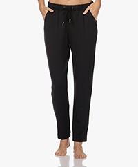 HANRO Balance Loose-fit Sweatpants - Black