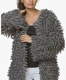 Fine Edge Limited Edition Alpaca Wollen Vestjas - London Fog