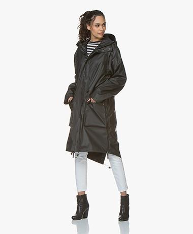 Maium 2-in-1 Parka Rain Coat - Black