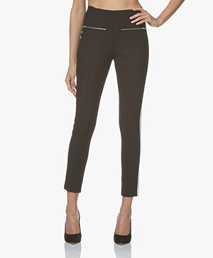 Rag & Bone Annie Stripe Pant - Black