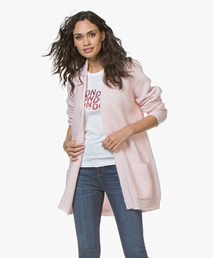 By Malene Birger Belinta Mohair Vest - English Rose