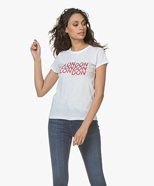 Rag & Bone New York Print T-shirt - White