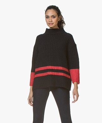 By Malene Birger Paprikana Knitted Pullover - Night Blue