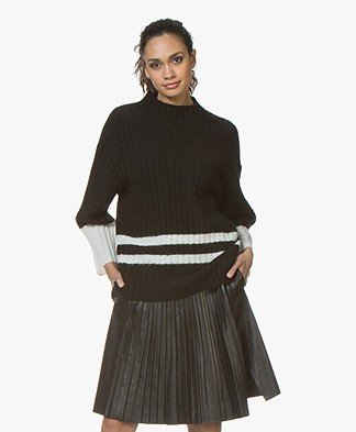 By Malene Birger Paprikana Knitted Pullover - Black