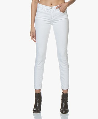 Current/Elliott The Stiletto Skinny Jeans - White