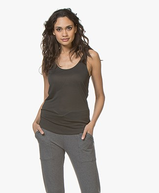 Filippa K Scoop Neck Jersey Tank - Enigma
