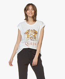 MKT Studio Teddie Queen Print T-shirt - White