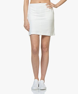 Filippa K Double Face Pocket Rok - Off-white