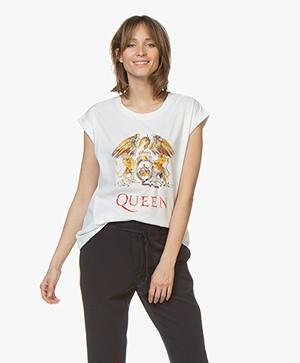 MKT Studio Teddie Queen Print T-shirt - White