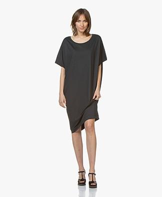 BRAEZ Oversized Jersey Dress - Petrol