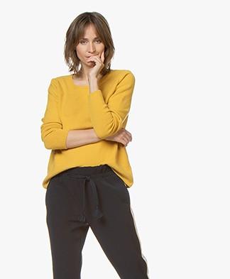 Sibin/Linnebjerg Melfi Sweater with Cashmere - Yellow
