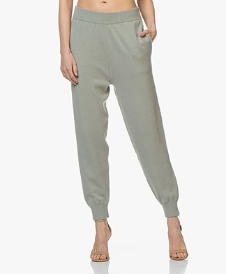extreme cashmere N°56 Yogi Knitted Pants - Bean