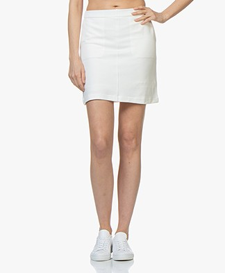 Filippa K Double Face Pocket Skirt - Off-white