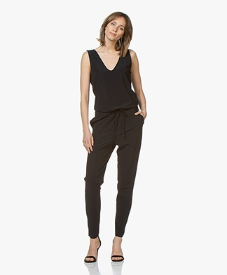 JapanTKY Nelli Travel Jersey Jumpsuit - Black