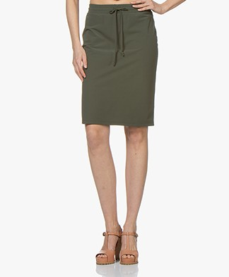 Josephine & Co Roy Travel Jersey Skirt - Army