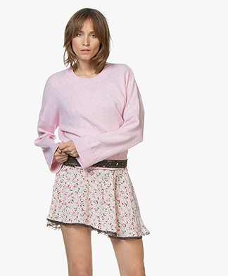 Zadig & Voltaire Livia Smoo Sweater - Rose Yves