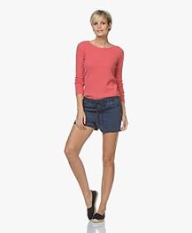 Belluna Blue Jay Cashmere Sweater - Coral