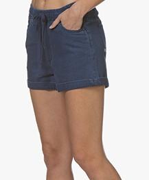 Denham Dune Denim Shorts - Blue
