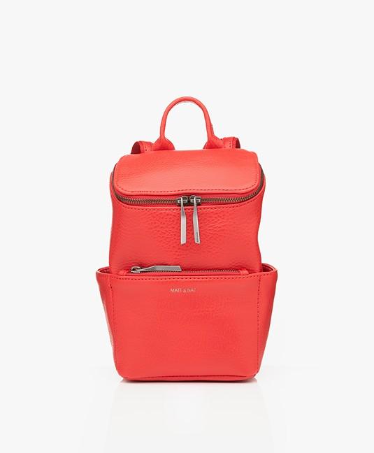 Matt & Nat Brave Mini Dwell Backpack - Red