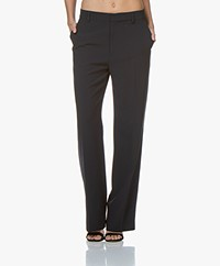 Filippa K Hutton Crepe Pants - Navy