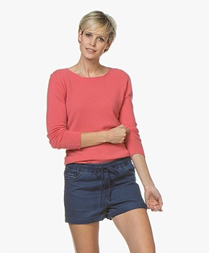 Belluna Blue Jay Cashmere Sweater - Coral