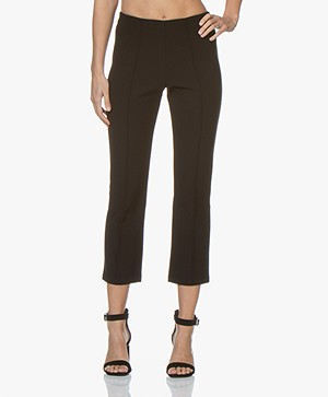 By Malene Birger Slim-fit Broek - Zwart