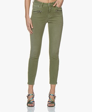 Closed Aimie Garment Dyed Skinny Jeans - Jungle