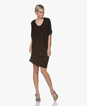 Sibin/Linnebjerg Nola Fine Knitted Dress - Black