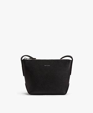 Matt & Nat Sam Dwell Cross-body Tas - Zwart