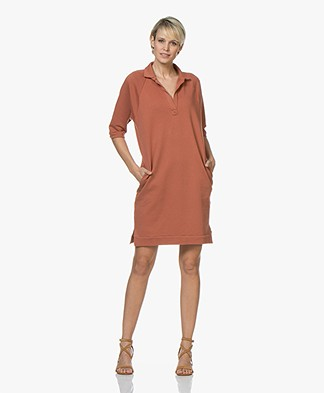 BY-BAR Harper Sweat Dress - Copper