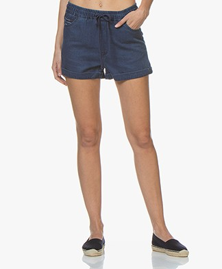 Denham Dune Denim Shorts - Blue