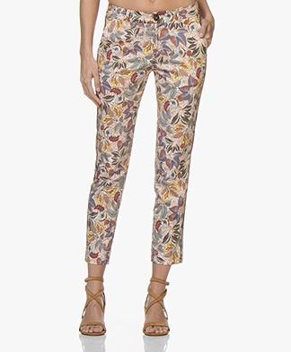 MKT Studio Poly Cotton Printed Pants - Craie