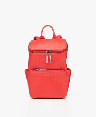 Matt & Nat Brave Mini Dwell Backpack - Red