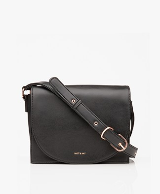 Matt & Nat Calla Loom Cross-body Tas - Zwart