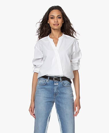 Closed Blanche Poplin Blouse - Wit